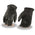 Milwaukee Leather SH234 Men's Black Welted Thermal Lined Leather Gloves