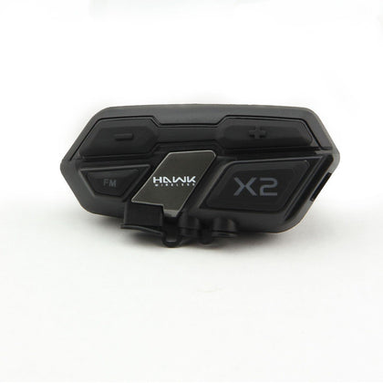 Hawk X2 Bluetooth Motorcycle Helmet Headset