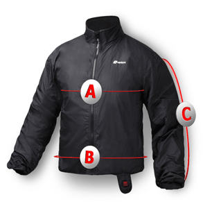 Venture Men's 12 Volt Heated Jacket Liner with Wireless Remote