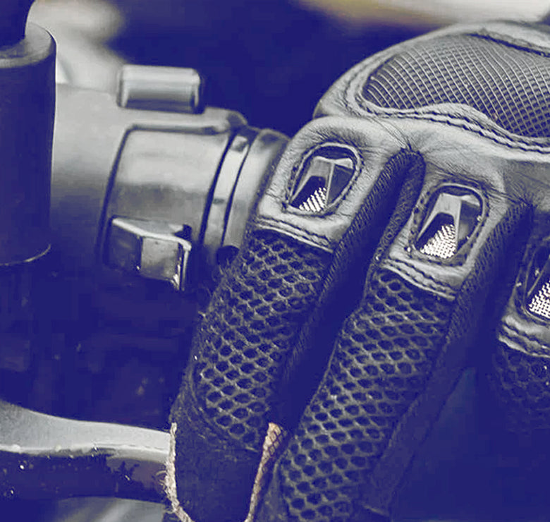 myleather motorcycle glove