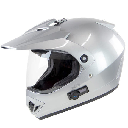 Torc TB-37 Adventour Silver Bluetooth Helmet