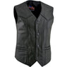 Men's 3006  P.O.W. Patriotic Leather Vest