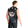 Men's 203 American Eagle USA Leather Vest