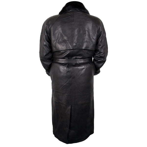 Ladies Lucky Leather 226 Soft Touch Lambskin Leather Long Coat