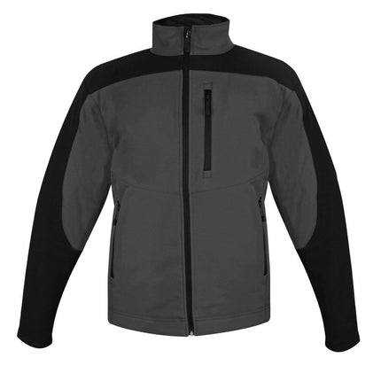 Storm Creek Men's Gray/Black StormX Soft Shell Jacket