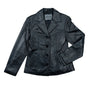 Lucky Leather 6090 Black Ladies Lambskin Jacket