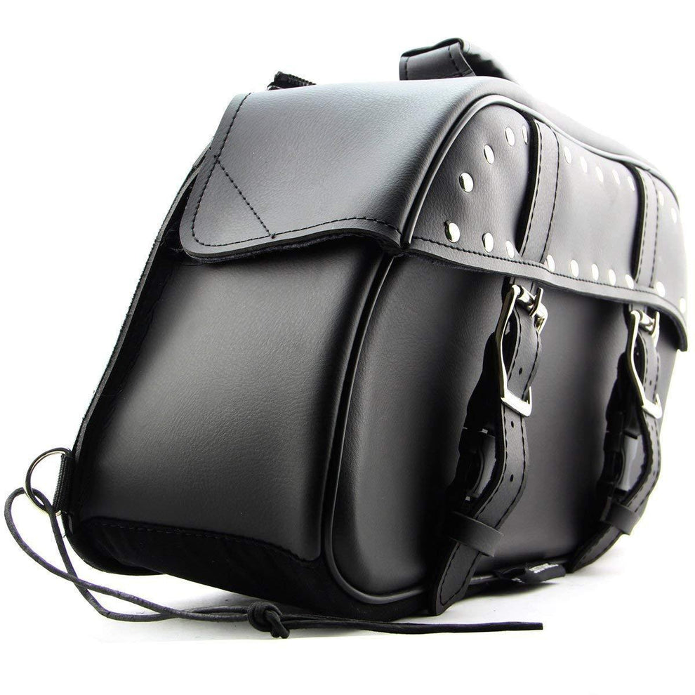 Xelement BXU2922 Black PVC Zip-Off Saddlebags