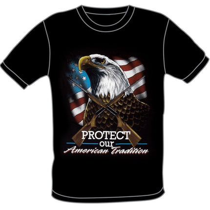 SS103 Protect Our American Tradition Eagle Shirt