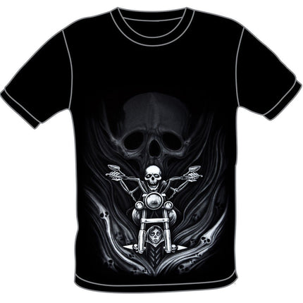 T5 Demon Rider Black T-Shirt