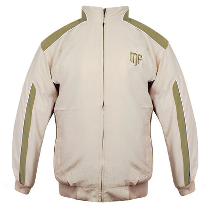 Mountain Fog  Mens Beige/Olive Windbreaker Jacket