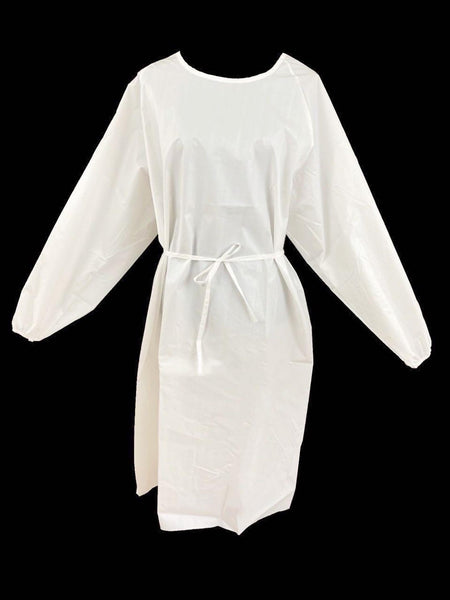 Washable protective Isolation Gown