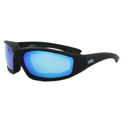 Global Vision Kickback G-Tech Blue Sunglasses