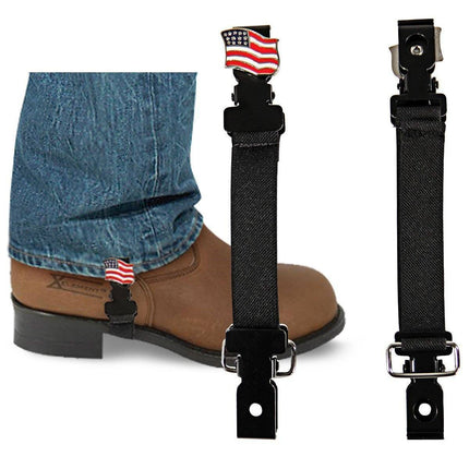 Pant Bungee with United States Flag Concho