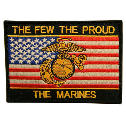 Officially Licensed 'The Few The Proud The Marines' Medium  Military 4x6  Patch