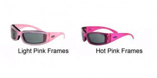 Global Vision Women's Fight Back 2 Glasses with Smoke Lens