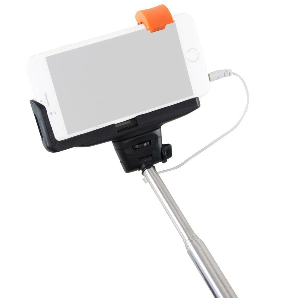 Extendable Selfie Stick Take Pole for iPhone iOS and Android