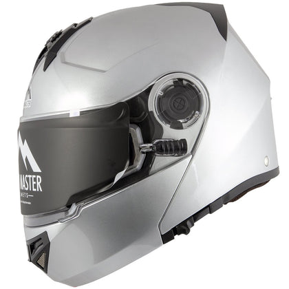 Snow Master TX50 Ultra Light Weight Modular Flat Black Dual Use Sport Snowmobile and street Motorcycle Full Face Helmet for Men & Women - DOT Approved for Bike Scooter ATV UTV Chopper Skateboard