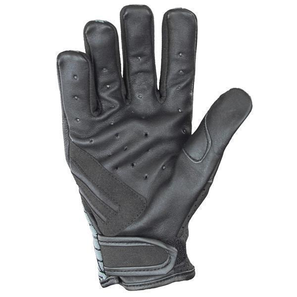 Xelement UK264118 'Express' Men's Slate Gray Textile/Leather Gloves