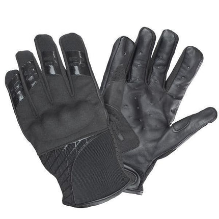 Xelement UK2641 'Express' Men's Black Textile/Leather Gloves