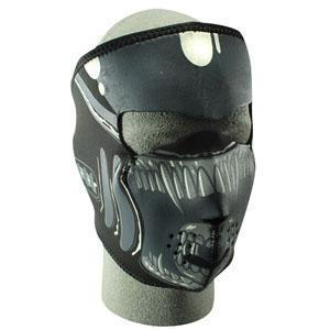 Neoprene Face Mask, Alien Design