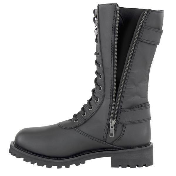 Xelement X29409 Women's Black Performance Leather Boots
