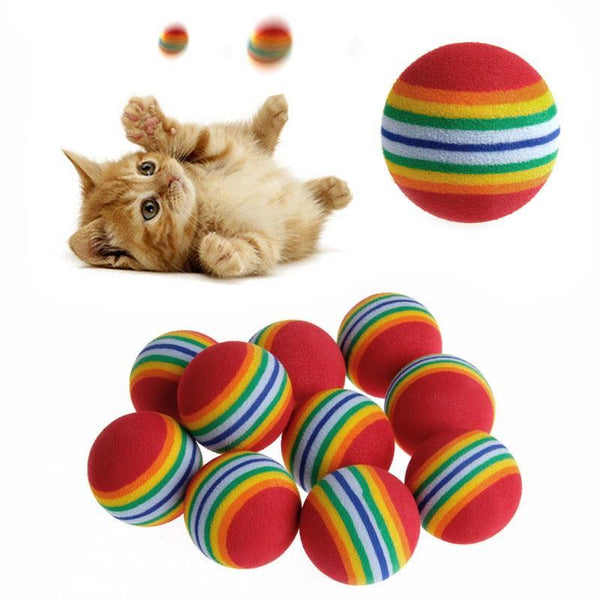 Scratch Ball with Natural Foam for Kittens