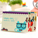 Cat Themed Finance Account Notepad