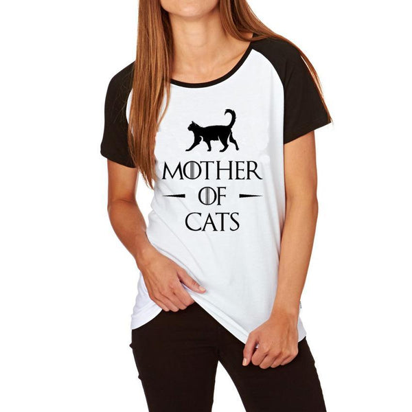 Mother of Cats Game of Thrones Style T-Shirt by PyHenPH