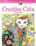 Abstract Cat Coloring Book For Kids 24 Pages
