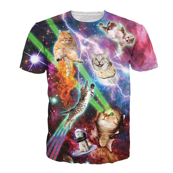 Nebula Space Eternal Cataclysm T Shirt Tops For Women Men