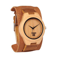 bamboo quartz watches