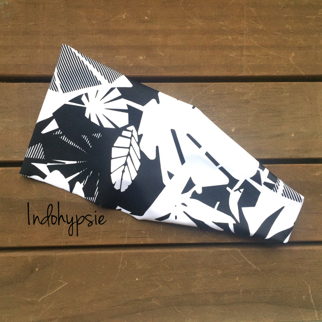 Shadowing Palms Headband