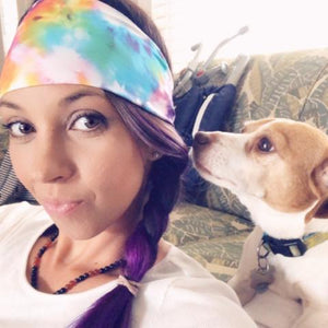 Fly High Tie Dye Headband