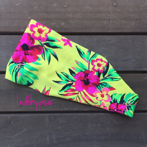 Paradise at Sunrise Floral Headband