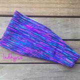 Purple Stripes Headband
