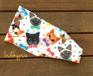 Kitty lover headband. Cute cats headbands. Kitty headbands