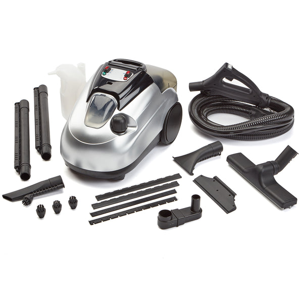 Model SL8000 vaporlux steam cleaner and tools