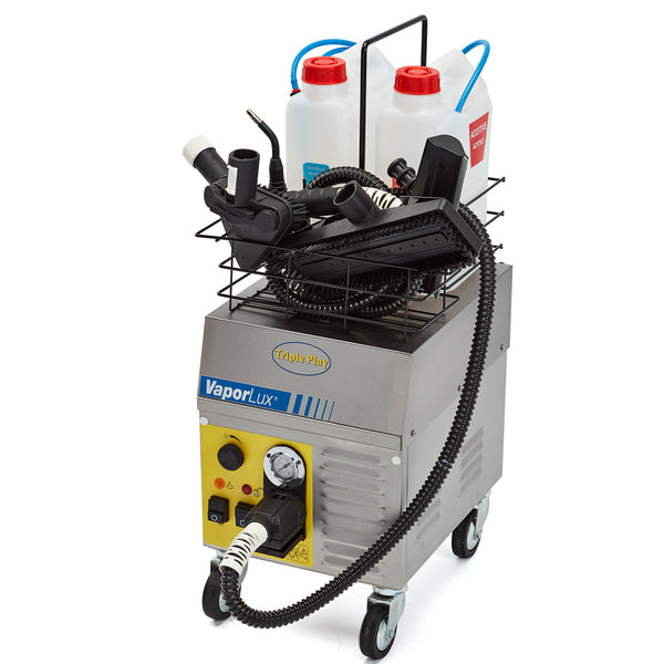 Vaporlux Triple Play vapor steam cleaning machine alternate view