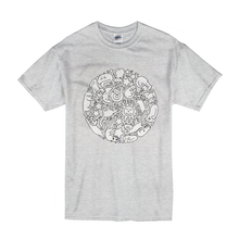 Cat Mandala T-shirt