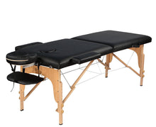Portable Fordable Massage Table with bag and accessories.