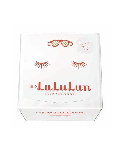 LULULUN FACE MASK (WHITE) Fresh Clear Type 32 SHEETS