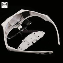Magnifying Glass 5 Lens LED Light Lamp Head Loupe Jeweler Headband Magnifier