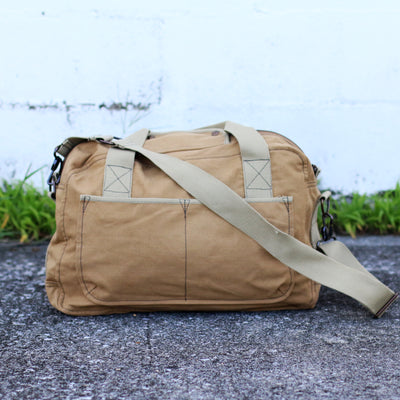 Vintage Military Overnight Travel Bag – Personalized Groomsmen Gift