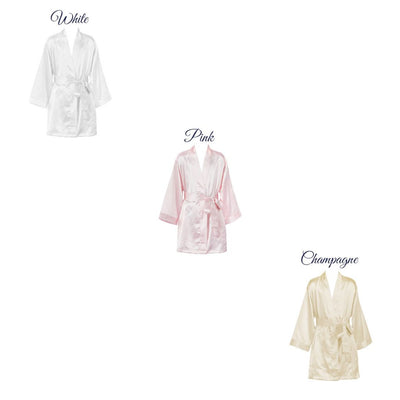 Personalized Satin Robe – Flower Girl & Jr. Bridesmaids Robe