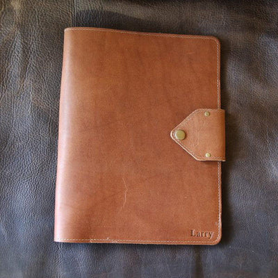 Personalized Bridesmaid Fine Leather Portfolio - The Vanderbilt