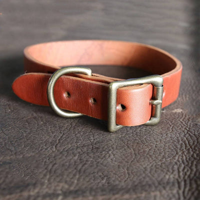 Personalized Leather Dog Collar - Custom Dog Collar, Leather Pet Collars, Gift for Dog Lovers, Unique Collar, Leather Collar