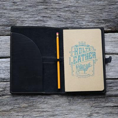Personalized Leather Journal, Gift for Groom, Wedding Party - The Inventor Journal