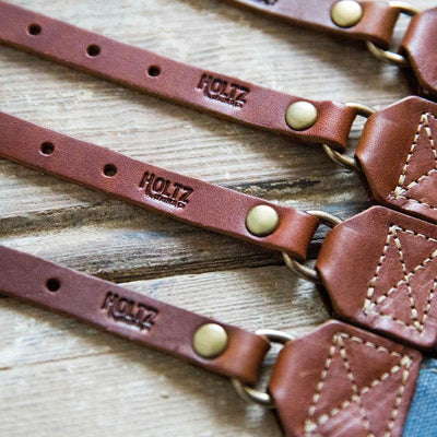 The Nomad Personalized Fine Leather & Canvas Camera Strap All Leather, Gift for Her, Gift for Him, Gifts for Mom, Gifts for Grads