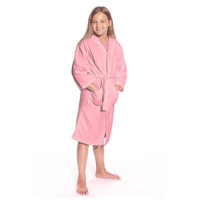 Personalized Cotton Waffle Weave Kids Robe – Flower Girl & Jr. Bridesmaid Gifts