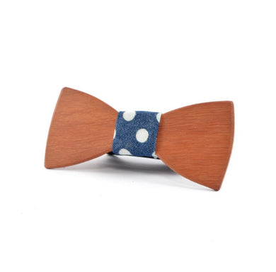 Peggy & Finn - 'Windsor' Jarrah 100% Recycled Timber Bow Tie